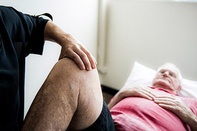Knee Treatment with Osteopathy
